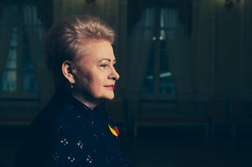 Dalios Grybauskaitės sveikinimas Vasario 16-osios proga