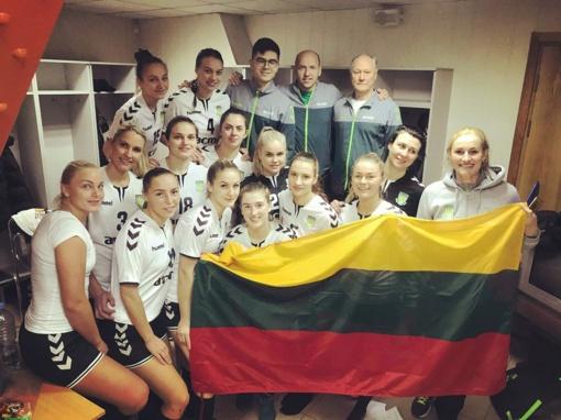 Lietuvos moterų rankinio lygos lyderių akistatoje - kauniečių pergalė