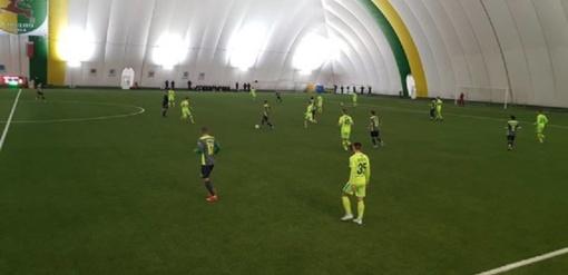 """28-iese žaidę """"Trakų"""" futbolininkai pabaigoje pralaimėjo """"Neman"""" ekipai"""