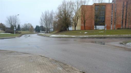 Sudvajų gatvėje bus įrengtos dvi žiedinės sankryžos