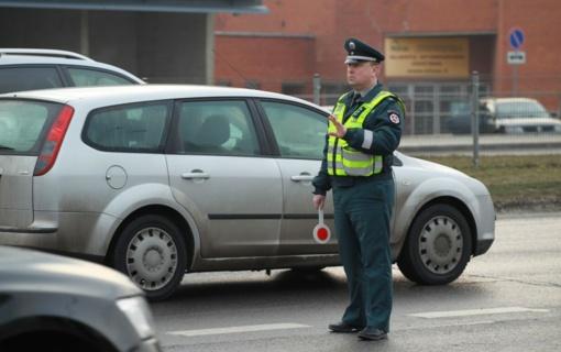 Per savaitę sostinėje įkliuvo 18 neblaivių vairuotojų