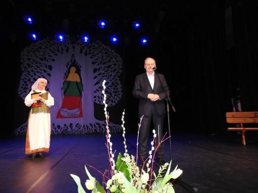 Vasario 16-osios šventėje Ignalinoje  pagerbti senieji lietuviški vardai ir įteikta kultūros premija