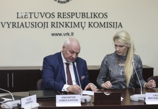 V. Mazuronis VRK pateikė pareiškinius dokumentus: dalyvaus Prezidento rinkimuose