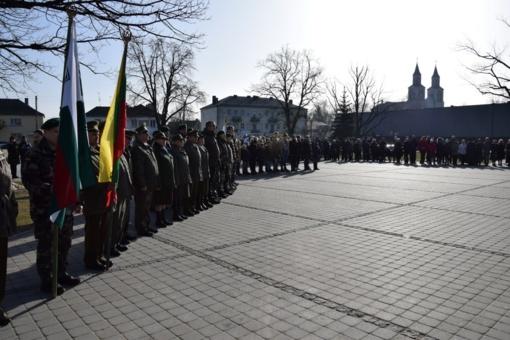 Vasario 16-ąją susibūrėme švęsti atkurtos Lietuvos valstybės 101 gimtadienį