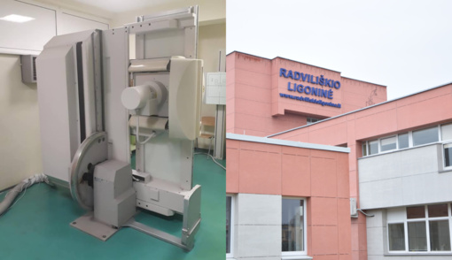 Radviliškio ligoninei – naujas rentgeno apartas