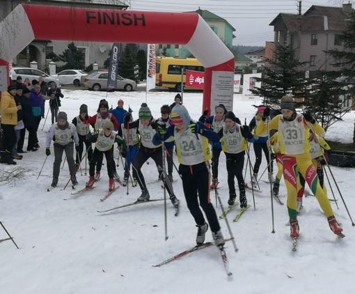 Nemenčinėje vyko XII Gedimino slidinėjimo maratonas bei Lietuvos slidinėjimo taurės varžybos