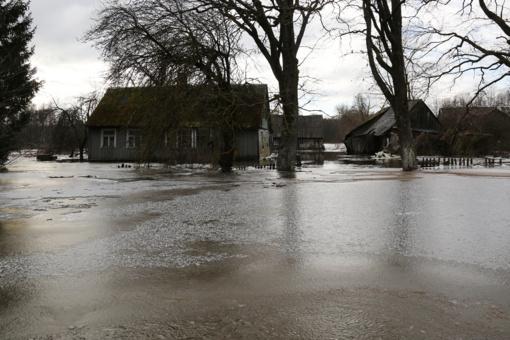 Skubus pasitarimas dėl pamarį aplankiusio potvynio
