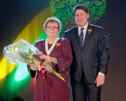 Naujoji Garbės pilietė - žurnalistė Julijana Sejavičienė
