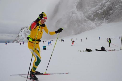 Greičio rekordus gerinęs biatlonininkas V. Strolia: pažiūrėjus į vietą darosi smagiau