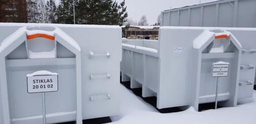 Anykščių ir Zarasų atliekų priėmimo ir laikino saugojimo aikštelėse baigti vykdyti išplėtimo darbai