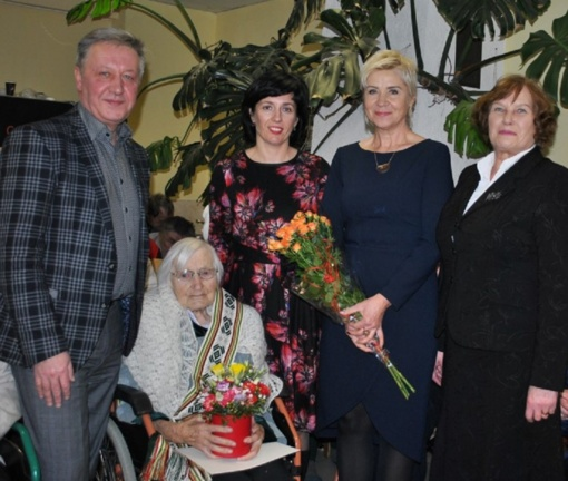 Pagerbta 103 metų ilgaamžė