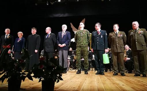 Paminėta Vasario 16-oji, pagerbti laisvės kovų dalyviai