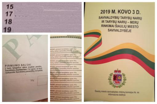 Rinkimai: informacinė knygelė su daugybe klaidų ir komisijos narių mintys apie darbo užmokestį