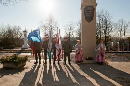 Lietuvos valstybės atkūrimo dienos minėjimo iškilmės