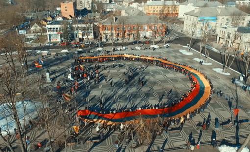 Kuršėnuose paminėta Lietuvos valstybės atkūrimo diena