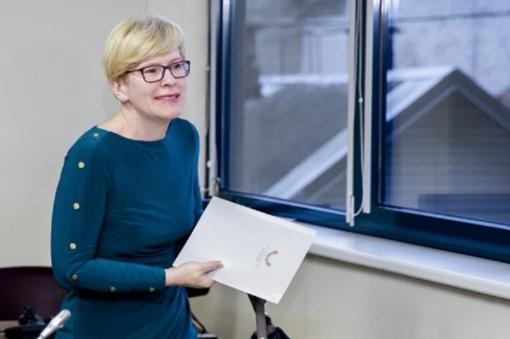 I. Šimonytė per dieną surinko parašus dalyvavimui prezidento rinkimuose