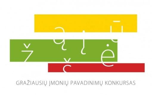 Apdovanotos gražiausius lietuviškus pavadinimus sugalvojusios įmonės