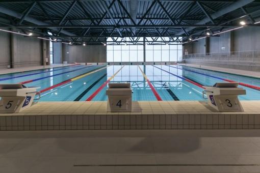 Naujajame Fabijoniškių baseine bus rengiamos dvigubos tarptautinės varžybos