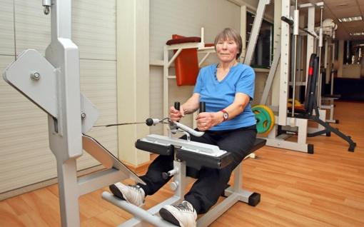 Senjorė sportuoti mėgsta nuo jaunystės