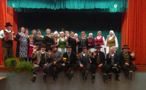 """Folkloro ansambliui """"MeDaina"""" - 10 metų"""
