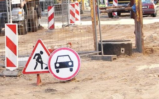 Bus tvarkoma Aušros alėja, miesto sankryžos ir gatvės