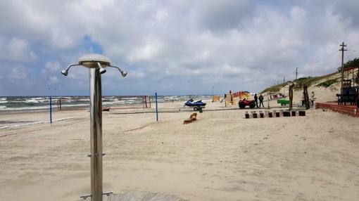 Klaipėda paplūdimiams vėl sieks mėlynosios vėliavos