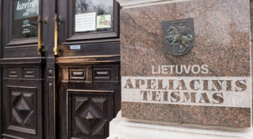 Apeliacinio teismo teisėjas V. Bavėjanas suimtas 10 parų