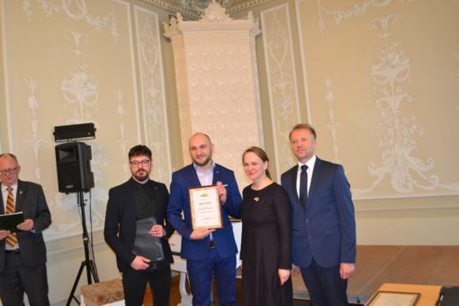"""Šakiečių kūrybos studija """"Virsmas"""" - tarp gražiausių lietuviškų įmonių pavadinimų konkurso nugalėtojų"""