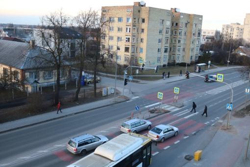 Vienoje avaringiausių miesto perėjų pradėjo veikti šviesoforas