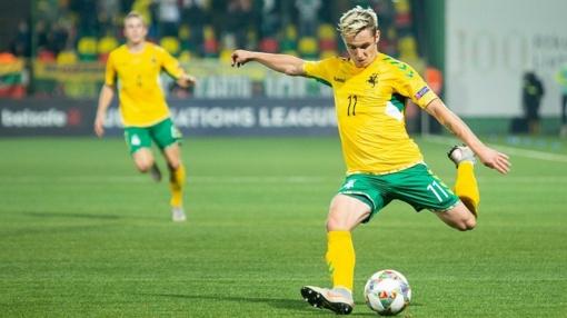Geriausias 2018 metų Lietuvos futbolininkas - A. Novikovas
