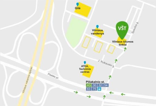 Vilniaus šilumos tinklų klientai bus aptarnaujami naujame centre