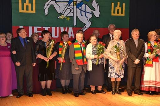 Vasario 16-ąją Sidabrave tradiciškai padėkota bendruomenėms, pagerbti seniūnijos aktyviausieji gyventojai