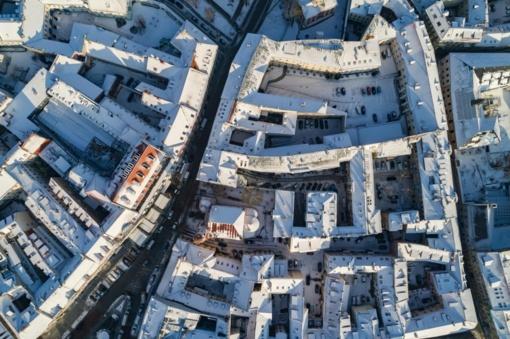 Kai kuriose Vilniaus senamiesčio gatvėse triukšmo lygis 16 decibelų viršija normas