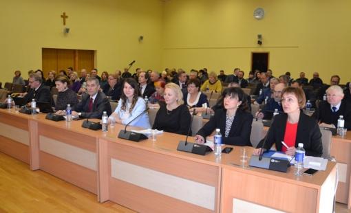 Vasario mėnesio Tarybos posėdžio aktualijos