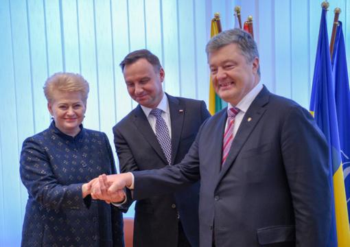 D. Grybauskaitė: Lietuva nuosekliai remia ir rems Ukrainą