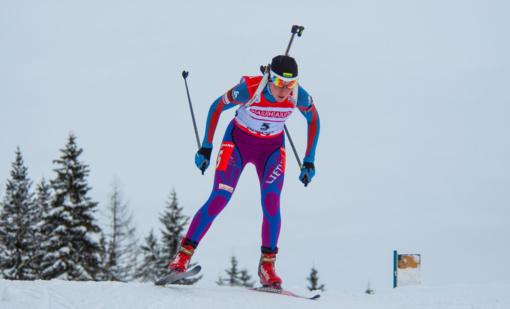 Biatlonininkė N. Kočergina Europos čempionate užėmė 48-ąją vietą