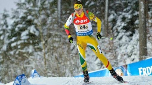 Biatlonininkas V. Strolia: turėjau tikslą patekti į šešetuką