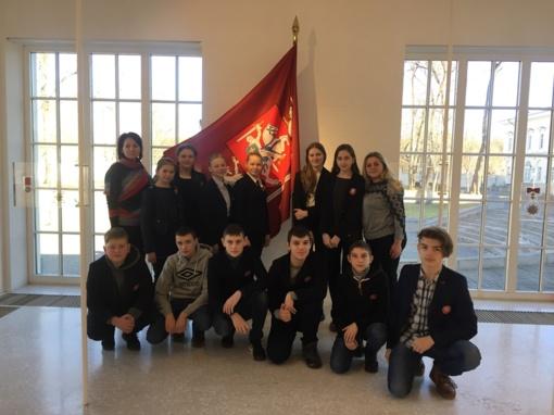 Mokiniai tobulina savo kompetencijas Valstybės pažinimo centre