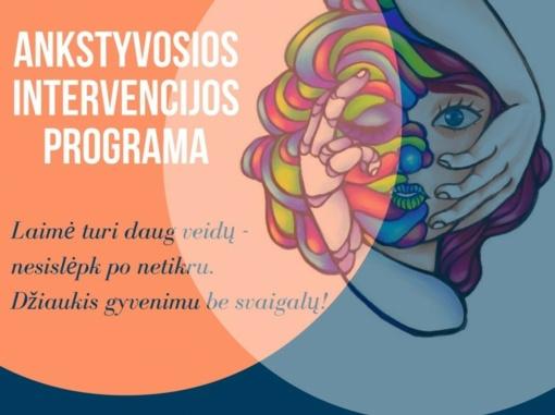 Rietave startavo ankstyvosios intervencijos programa