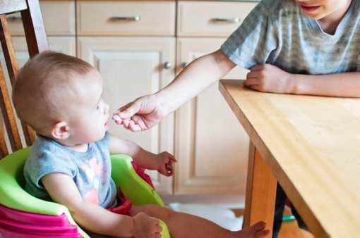 Ko ieškoti maisto kūdikiams etiketėje?