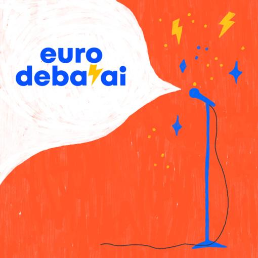 """Moksleiviai """"Eurodebatuose"""" dalinsis patarimais, kaip balsuoti ne tik kojomis, bet ir galva"""