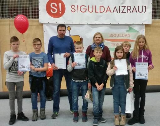 """Šiaulių Dainų progimnazijos mokinių pasiekimai robotikos varžybose """"Siguldas Robotu Kauss 2019"""""""