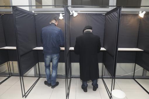 Šiandien rinkėjai galės iš anksto atiduoti savo balsus už vietinę valdžią