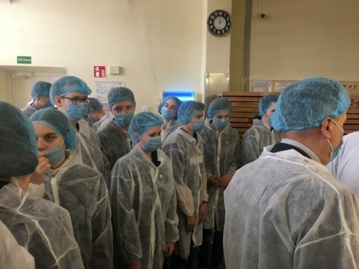 """Inžinerija ir UAB """"Rūta"""" - pažintinis S.Daukanto gimnazijos Ii klasės mokinių vizitas"""