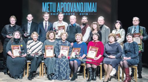 Išdalinta dešimt nominacijų