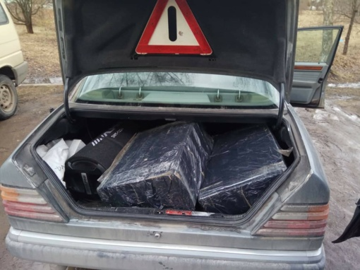 Švenčionių rajono gyventojas neteko beveik 5 tūkst. pakelių kontrabandinių rūkalų