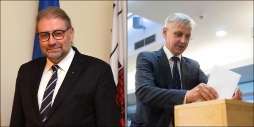 Antrajame Panevėžio miesto mero rinkimų ture – R. M. Račkauskas ir P. Urbšys