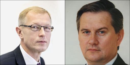 Varėnoje antrajame mero rinkimų ture susigrums A. Kašėta ir V. Mikalauskas