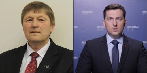 Ignalinos rajono savivaldybės mero rinkimų antrajame ture – Justas Rasikas ir Henrikas Šiaudinis