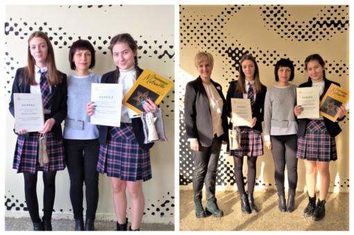 Sėkmė 1-ojoje Lietuvos mokinių etninės kultūros olimpiadoje
